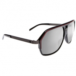 Bodega Black/Red with Gunmetal Temples Grey with Silver Mirror