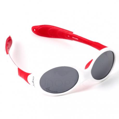6649cb2c07 Looping 2 Blanc Rouge - Lunettes de soleil Funoptic