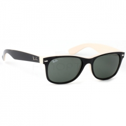 New Wayfarer Black Beige