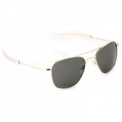 Aviator Gold Bayonet Gray