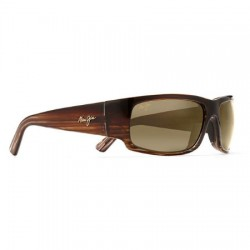 Maui Jim World Cup Chocolat Dégradé Strié