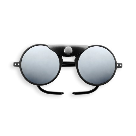 Sun Glacier Black with Mirror Lenses