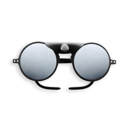 Sun Glacier Black with Mirror Lenses