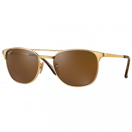 lunettes soleil ray ban or