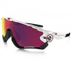 Oakley Jawbreaker Polished White / PRIZM™ Road