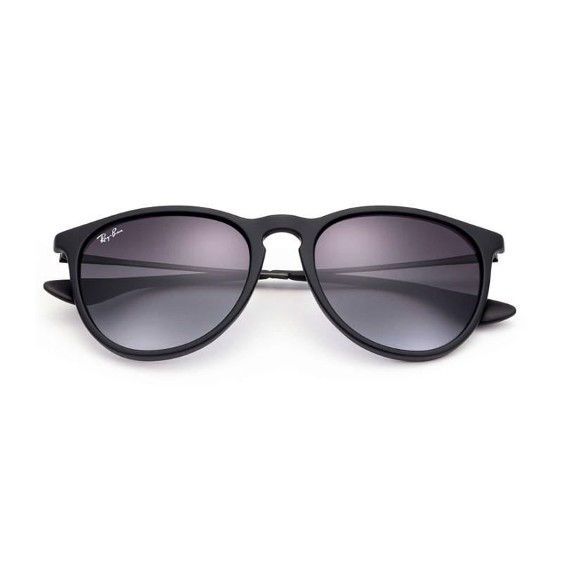 ray ban erika classic noir lunettes de soleil funoptic. Black Bedroom Furniture Sets. Home Design Ideas