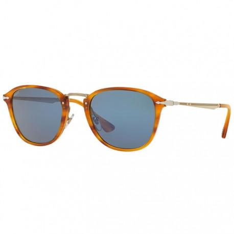 Persol 3165 marron ray lunettes de soleil funoptic - Verre lunette raye assurance ...