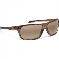 Maui Jim Island Time Striped Rootbeer