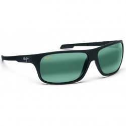 Maui Jim Island Time Black Matte Rubber