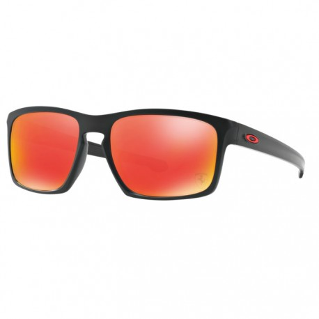 Oakley Sliver Matte Black Scuderia Ferrari Collection