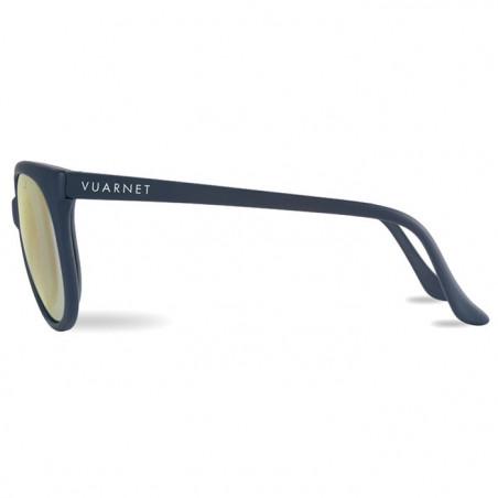 Vuarnet 002 Bleu Mat  - Pure Grey Gold Flashed