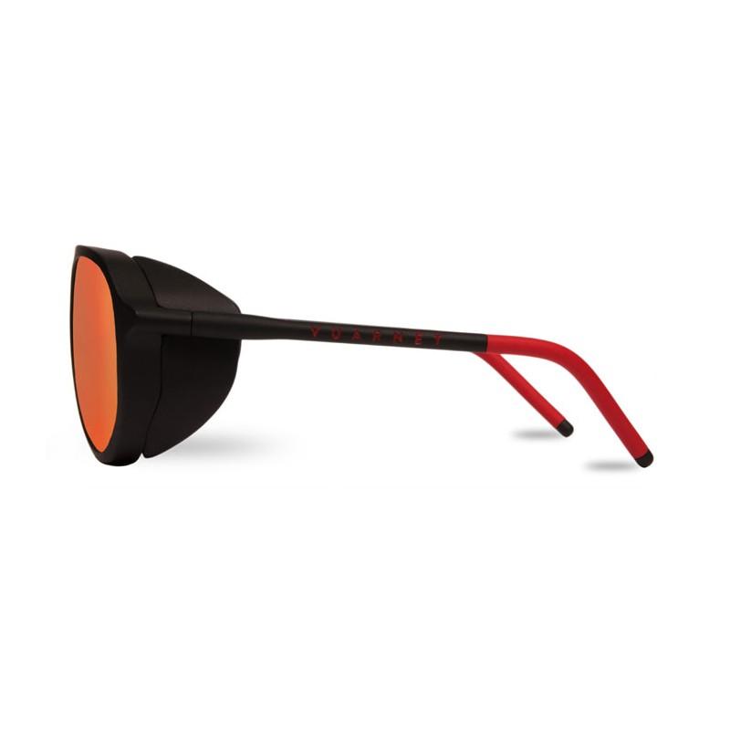 Vuarnet Ice Noir - Pure Grey Red Flash - Lunettes de soleil Funoptic e0db89ce79ae