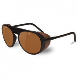 Vuarnet Ice Noir - Brown Polar