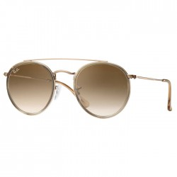 Ray Ban Round Double Bridge Bronze Cuivre