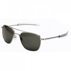 Randolph Aviator Matte Chrome Bayonet Gray