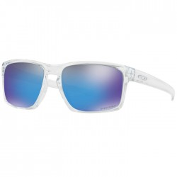 Oakley Sliver Polished Clear + Prizm Sapphire Iridium