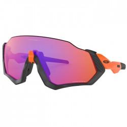 Oakley Flight Jacket Matte Black / Neon Orange