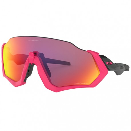 Oakley Flight Jacket Neon Pink / Polished Black
