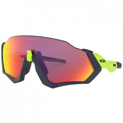 Oakley Flight Jacket Matte Navy / Retina Burn