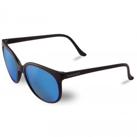 Vuarnet 002 Black Mat - Pure Grey Blue Flashed