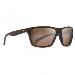 Maui Jim Makoa Matte Brown Wood Grain