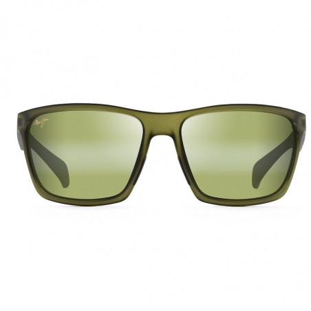 Maui Jim Makoa Matte Translucent Khaki Green