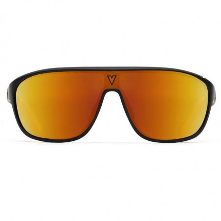 Vuarnet 180° 1929 Noir Mat et Orange