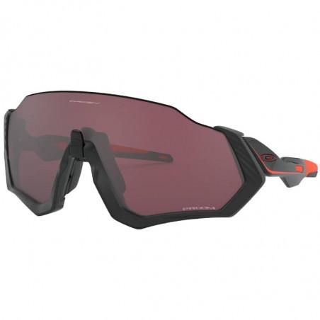 Oakley Flight Jacket Matte Black / Red