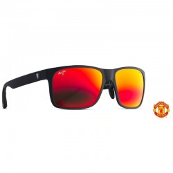 Maui Jim Red Sands Asian Fit Matte Black Manchester United