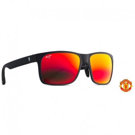 Maui Jim Red Sands Asian Fit Matte Black Manchester United